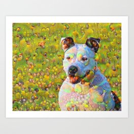 Dream Dog Art Print