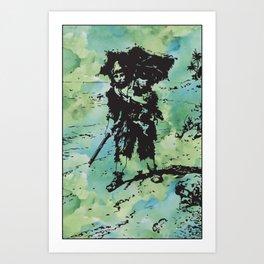 Robinson Crusoe Art Print