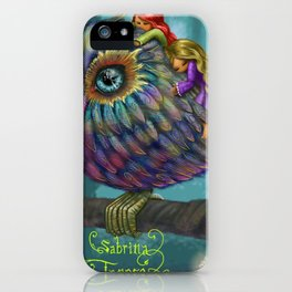 Sweetness of the Owl iPhone Case