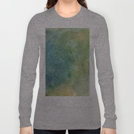 Pastel Abstract Watercolor Painting Long Sleeve T-shirt