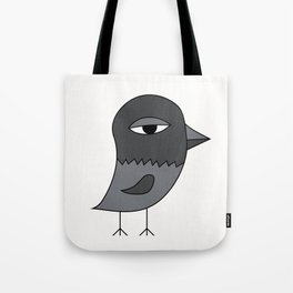 Big Eye Pigeon Tote Bag