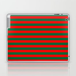 Horizontal Stripes, Christmas and Holiday Fantasy Collection Laptop & iPad Skin