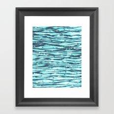 Slipstream Framed Art Print