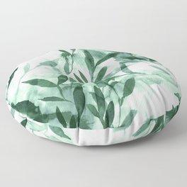 Changes Hunter Green Floor Pillow