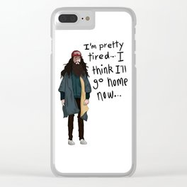 forrest Clear iPhone Case