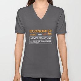 Economist Definition Unisex V-Neck