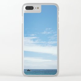 Perfect Day. Clear iPhone Case