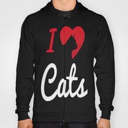 I Love Cats... Hoody