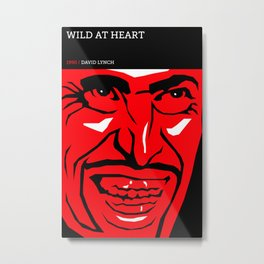 David Lynch Tribute Series :: Wild At Heart Metal Print