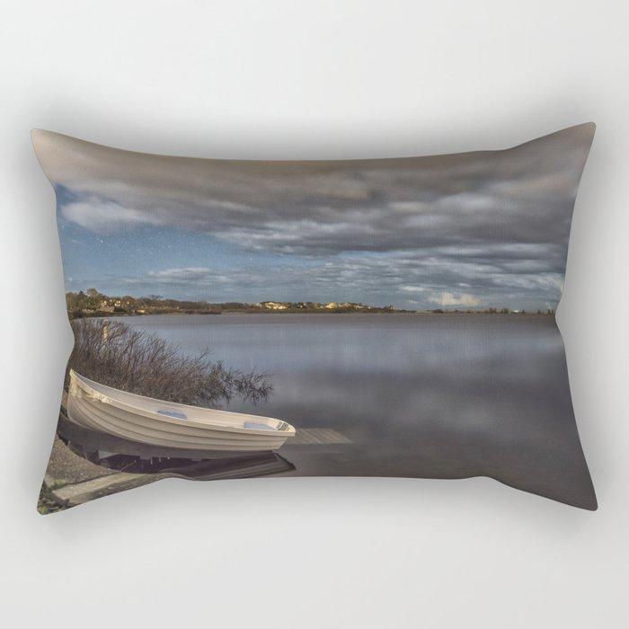 Calm Night Rectangular Pillow