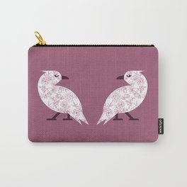 Valentine Crows Carry-All Pouch