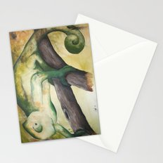 Chameleon Painting Stationery Cards