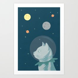 Dreaming about Space Art Print