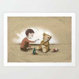 Is it medicine or social skill Art Print
