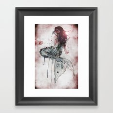 Mermaid II Framed Art Print