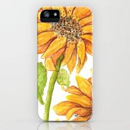 Shining sun iPhone Case