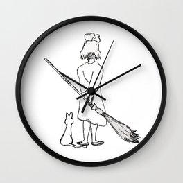 Believe in Yourself (Kiki) - Sketch Wall Clock