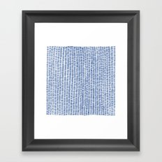 Tally Framed Art Print