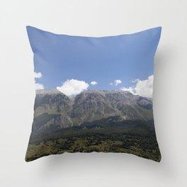 dolomiti Throw Pillow