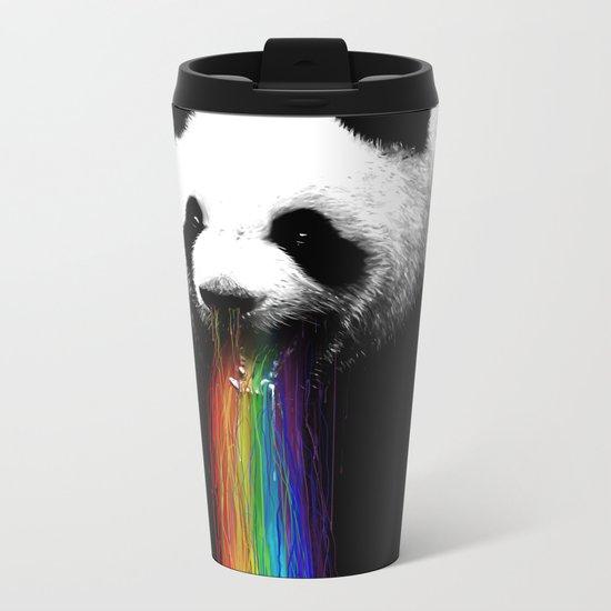 Pandalicious Metal Travel Mug