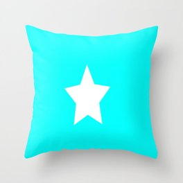 Flag of Somalia Throw Pillow