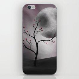 Midnight Peach iPhone Skin