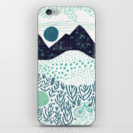 Mountain Biking - The Gravel Path Less Traveled iPhone Skin