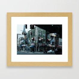 New York Minute Framed Art Print