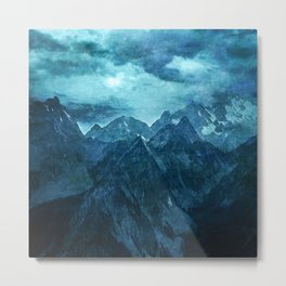 Amazing Nature - Mountains Metal Print