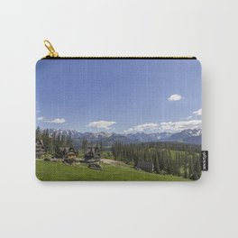 Snow Topped. Carry-All Pouch