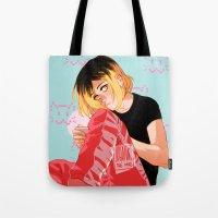 johannathemad Tote Bags featuring Neko by JohannaTheMad