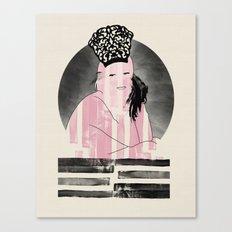 Peineta Canvas Print