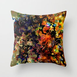 Waves of Vision Throw Pillow