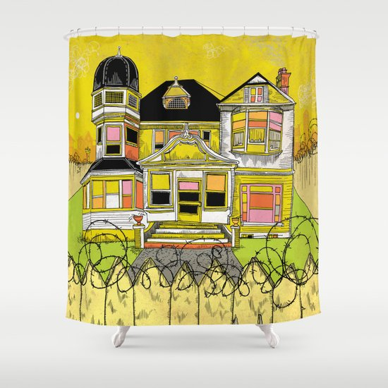 Your Home is Your Castle Shower Curtain