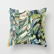 faded 4 Throw Pillow