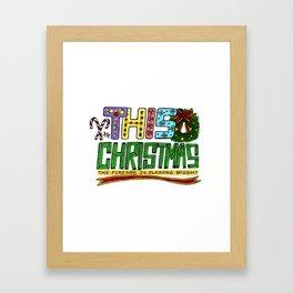 This Christmas Framed Art Print