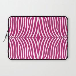 Fuchsia Zebra Laptop Sleeve