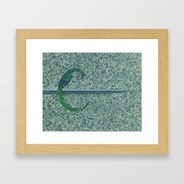 To the Hilt Framed Art Print