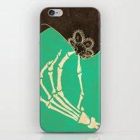 dia de los muertos iPhone & iPod Skins featuring Dia de los Muertos by Francesco Tortorella