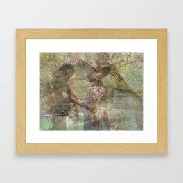 Warrior Spirit Framed Art Print