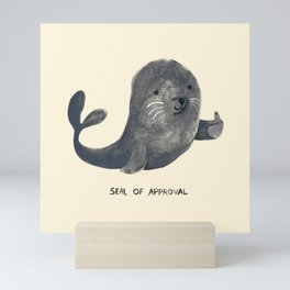 Seal Of Approval Mini Art Print