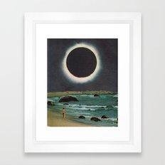 Corona Tide Framed Art Print