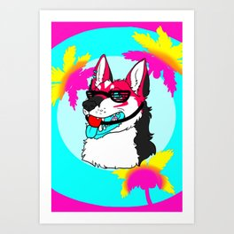 Kinkline Miami  Art Print
