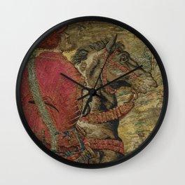 Hunt of Maximilian 3 Wall Clock