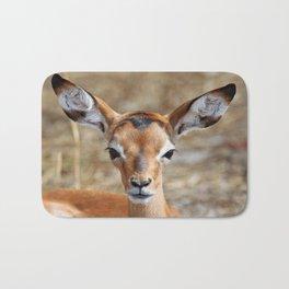 Very young Impala - Africa wildlife Bath Mat