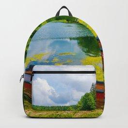 Alpine summer, Austria Backpack