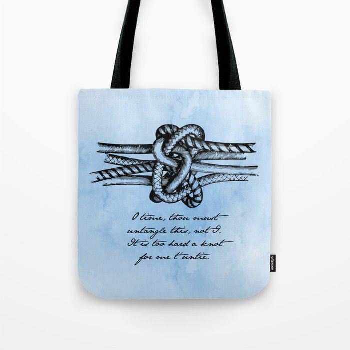 William Shakespeare - Twelfth Night - Knot Tote Bag