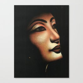 Queen collected from Egypt Canvas Print