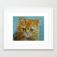 van gogh Framed Art Prints featuring Van Gogh by Michael Creese