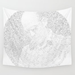 [De]generated ArcFace - Hunter S. Thompson Wall Tapestry